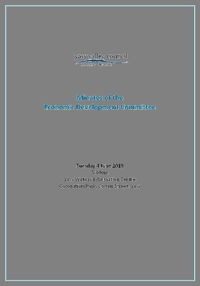 Agenda of Ordinary Council Meeting - 26 June 2019